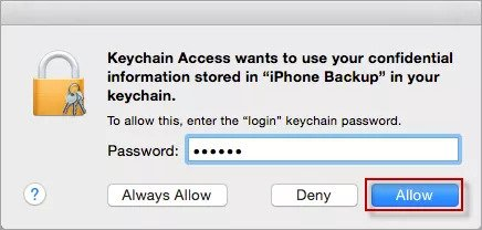 keychain access mac