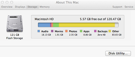 check-mac-storage
