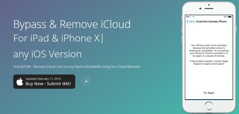 Test de iCloud Remover Org