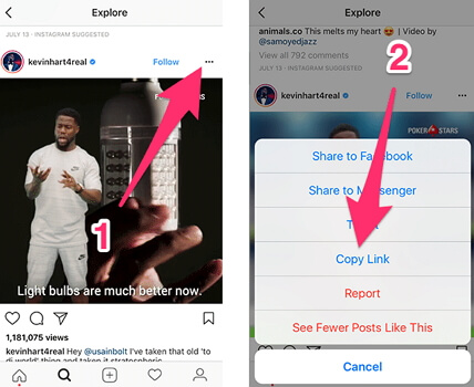 Top 3 Ways on How to Save Instagram Videos to Camera Roll