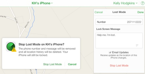 iphone lost mode unlock