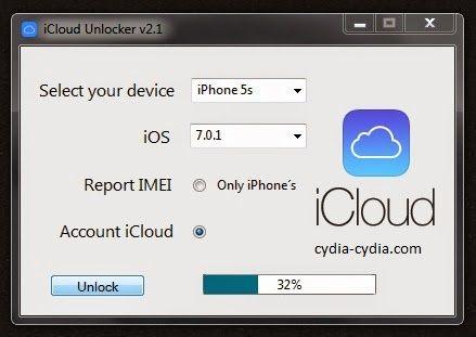 iCloud Unlocker v2.1 Zip