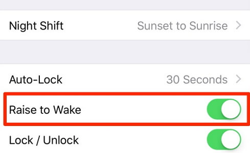 turn-off-tap-to-wake-setting