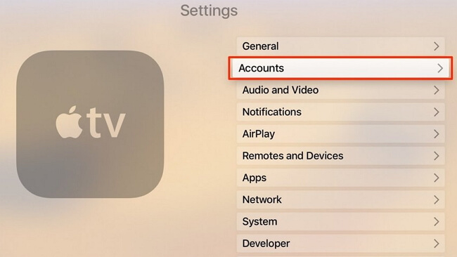 check-apple-id-apple-tv