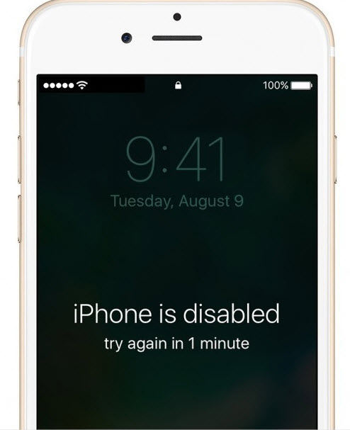 iPhone Disabled Times