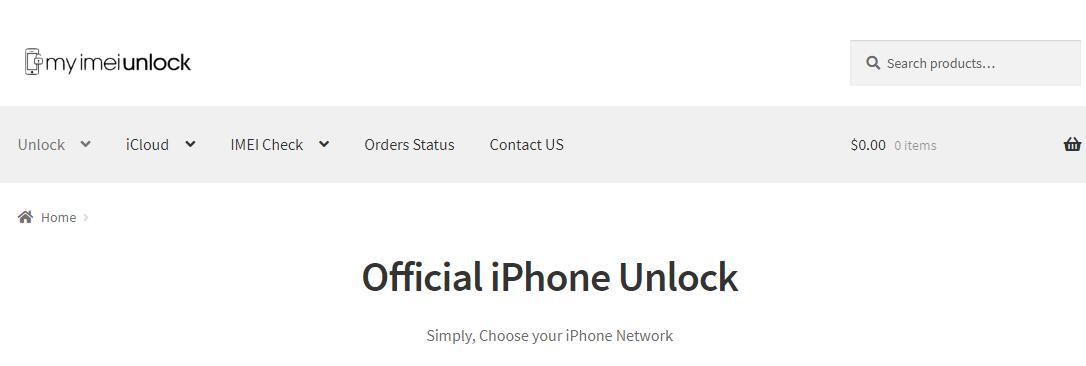 unlock icloud with myimeiunlock