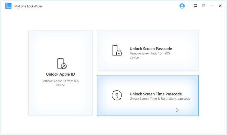 Unlock restrictions passcode