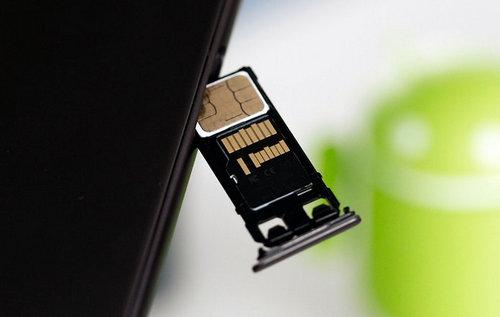 use a micro SD card