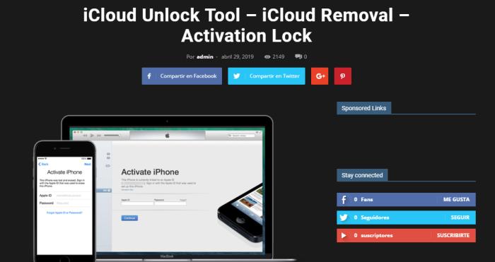 Apple ID Remover