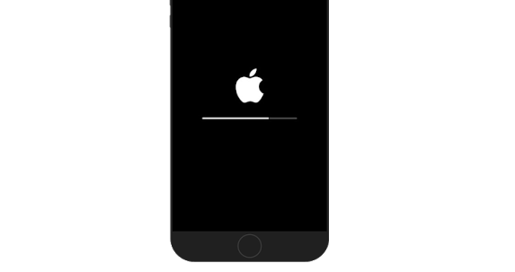 apple-logo-with-progress-bar