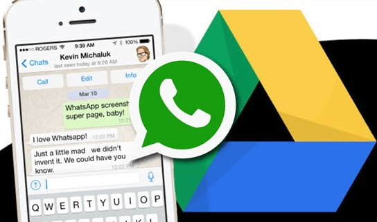 backup iphone whatsapp to google drive