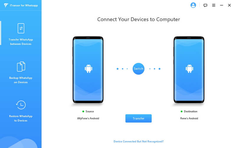 connect android devices to computer