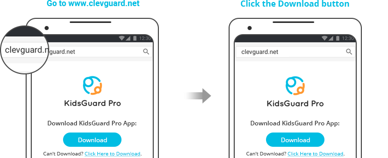 download and install kidsguard pro