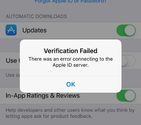 error-connecting-to-the-apple-id-server