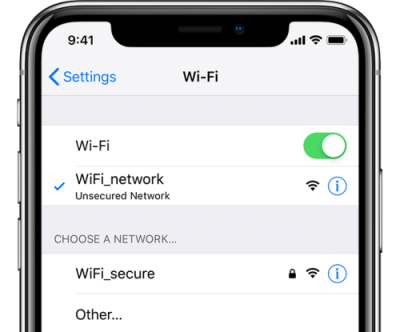 reset network