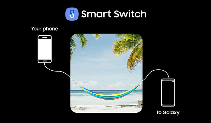 Transfer Data Using Smart Switch