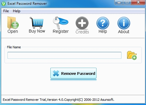 asunsoft excel password remover
