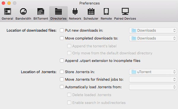 delete downloads in software