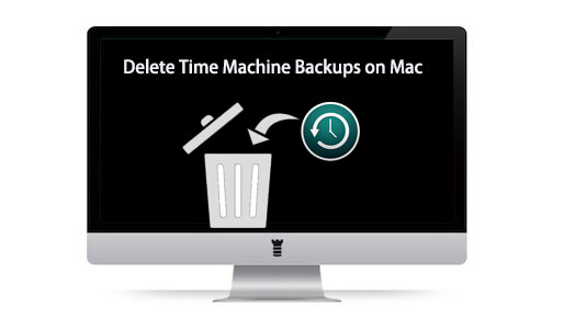 delete time machine backups on mac