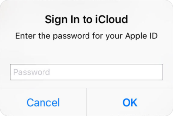 iPhone keeps asking for iTunes password
