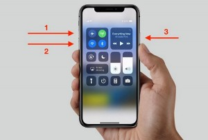 force restart iPhone 8