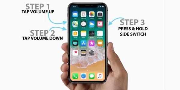 froce restart iphone
