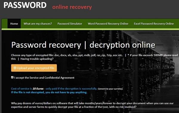 password online