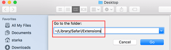remove extensions mac