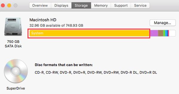remove mac system files