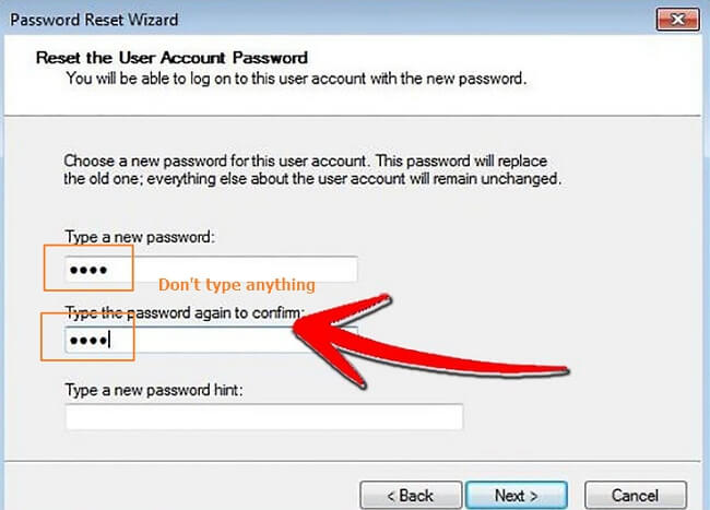 remove windows 10 password with disk