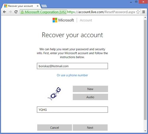 reset windows 10 password online