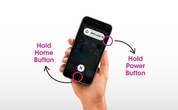 restart iphone 8 or older