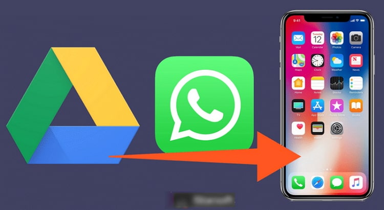transfer whatsapp from google to iphone