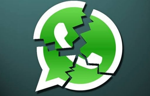 whatsapp crashes on android