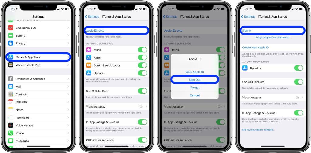 App Store Update Apple ID