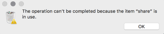 delete files in use