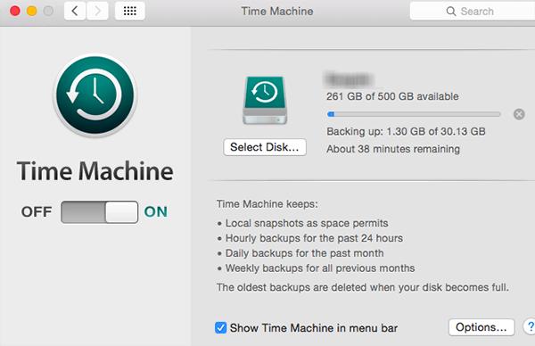 delete time machine backups on mac