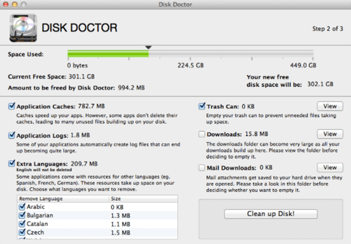 disk doctor app