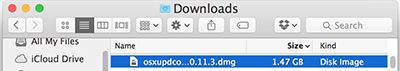 downloads disk images mac