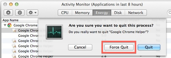 force quit process mac