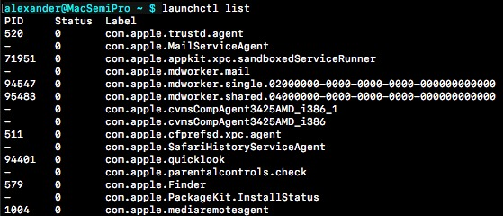 manage launch agents on mac