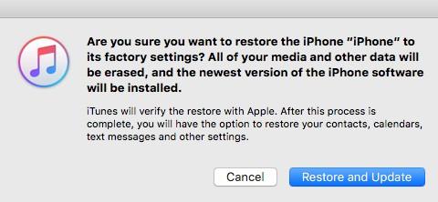 reset all settings
