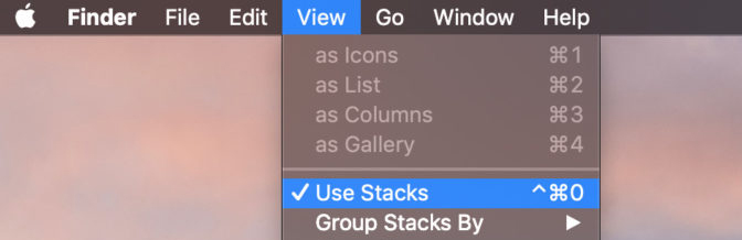 use stacks mojave