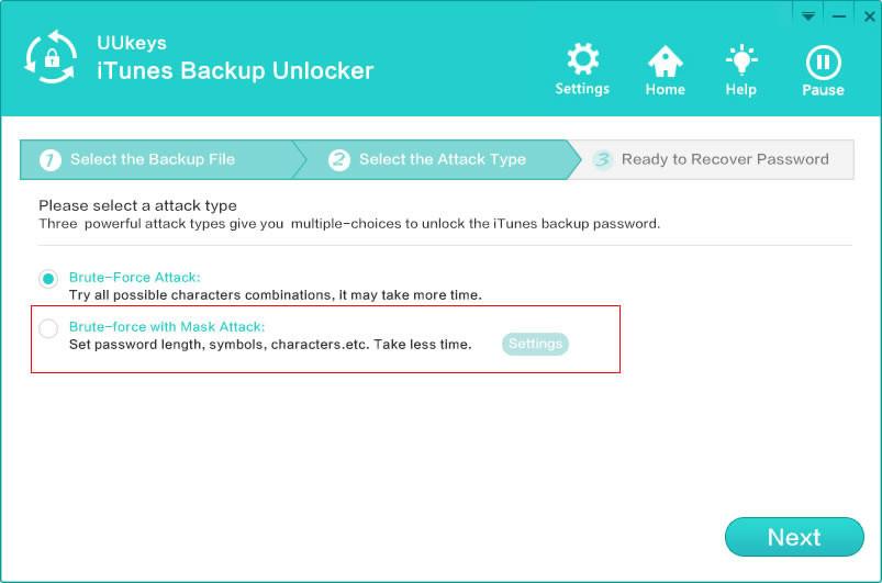UUKeys iTunes Backup Unlocker