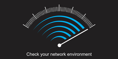 check mobile network environment