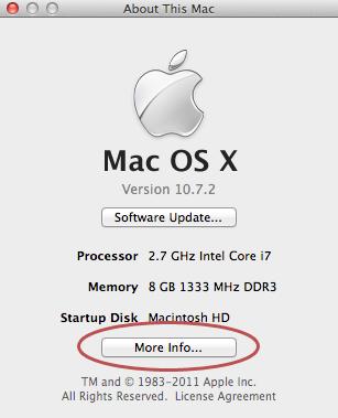 more info mac