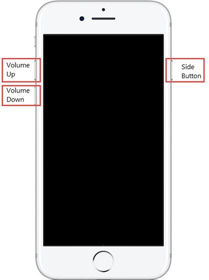 soft restart iphone