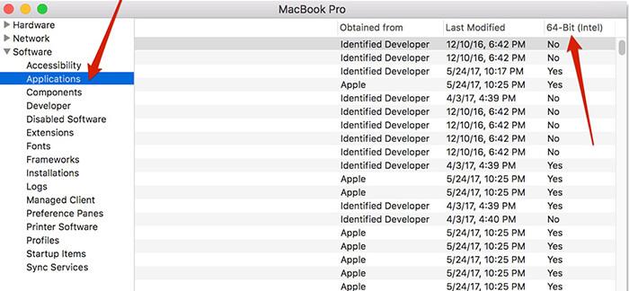 check mac app 64 bit