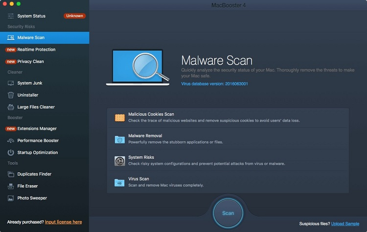 macbooster security feature