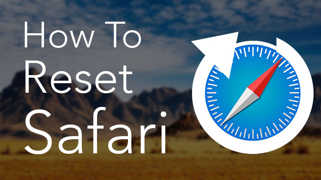 reset safari on mac
